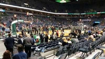 BMO Harris Bradley Center, section: 203, row: E, seat: 6