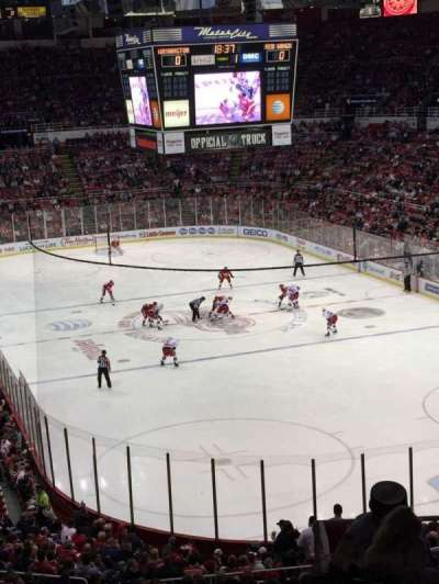 Joe Louis Arena section 216B