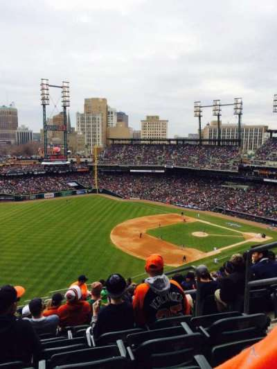 Comerica Park, section: 340, row: 17, seat: 4