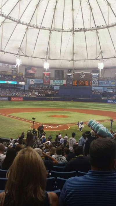 Tropicana Field section 102