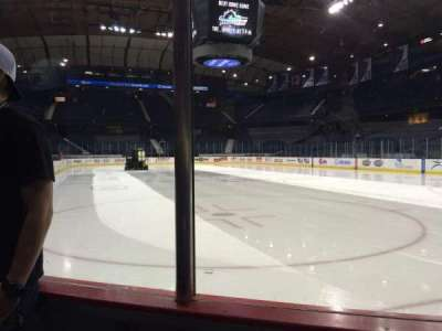 Allstate Arena, section: 107, row: BB, seat: 14