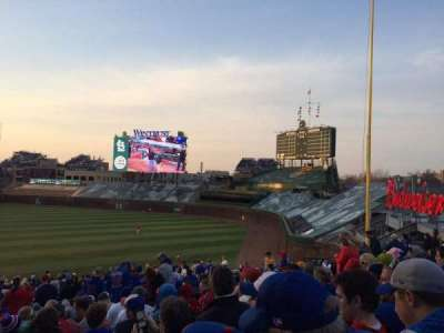 Wrigley Field section 240