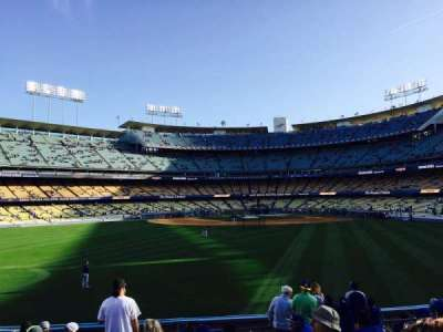 Dodger Stadium, section: 313PL, row: L, seat: 7
