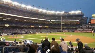 Yankee Stadium, section: 114B, row: 23, seat: 12