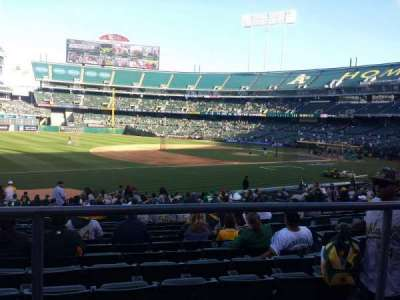 Oakland Alameda Coliseum, section: 126, row: 22, seat: 8