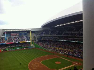 Marlins Park section 324