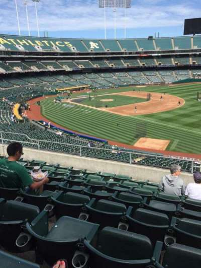 Oakland Alameda Coliseum, section: 207, row: 8, seat: 1