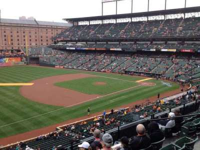 Oriole Park at Camden Yards section 258