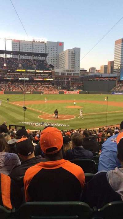 Oriole Park at Camden Yards, section: 34, row: 28, seat: 4