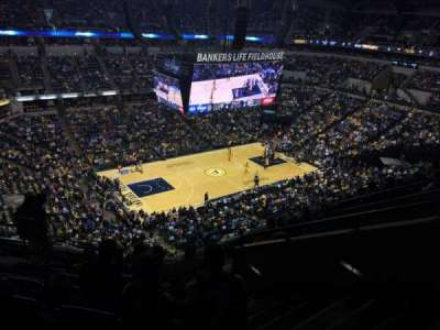 Bankers Life Fieldhouse, section: 211, row: 8, seat: 5