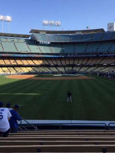 Dodger Stadium, section: 303PL, row: L, seat: 14
