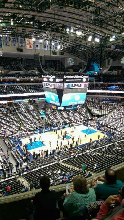 American Airlines Center, section: 312, row: D, seat: 15