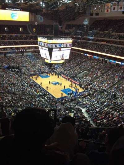 American Airlines Center, section: 304, row: J, seat: 17
