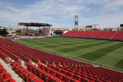 Toyota Stadium, section: 111, row: 20, seat: 10