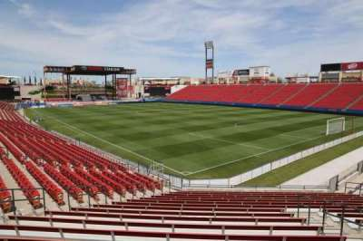 Toyota Stadium, section: 112, row: 20, seat: 10