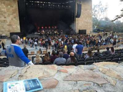 Santa Barbara Bowl, section: I, seat: 6