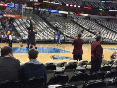 American Airlines Center, section: 120, row: 2, seat: 12