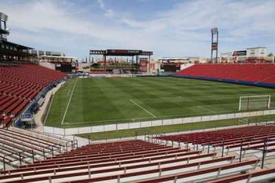 Toyota Stadium, section: 114, row: 20, seat: 10