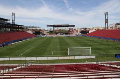 Toyota Stadium, section: 116, row: 20, seat: 10