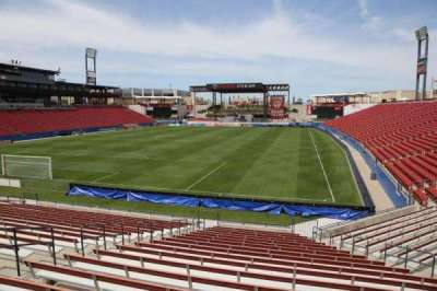 Toyota Stadium, section: 119, row: 20, seat: 10