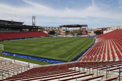 Toyota Stadium, section: 120, row: 20, seat: 10