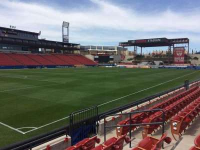 Toyota Stadium, section: 122, row: 5, seat: 19