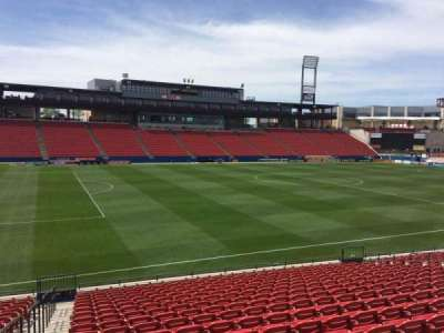 Toyota Stadium, section: 124, row: 18, seat: 1