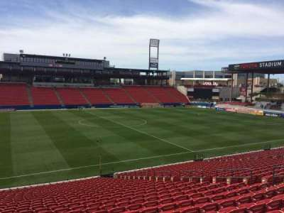 Toyota Stadium, section: 125, row: 26, seat: 11