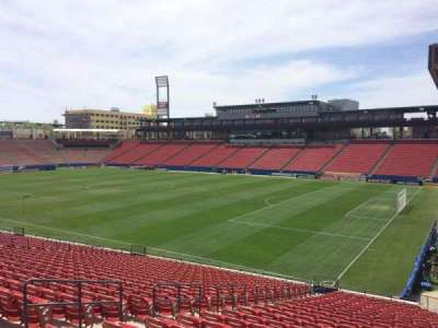 Toyota Stadium, section: 132, row: 25, seat: 8