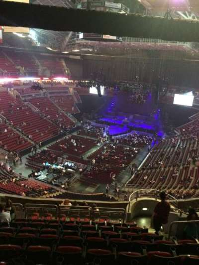 KeyArena, section: 209, row: 14, seat: 18