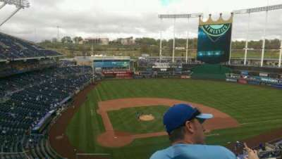 Kauffman Stadium section 425