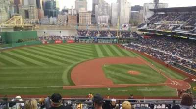 PNC Park, section: 323, row: h, seat: 20