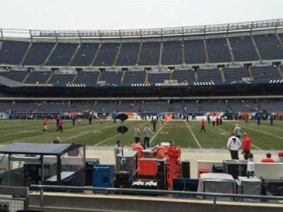Soldier Field, section: 108, row: 4, seat: 4