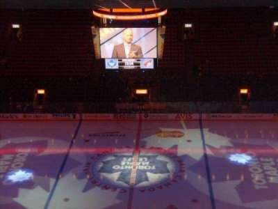 Air Canada Centre, section: 321, row: 19, seat: 9