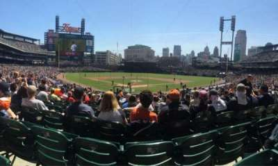 Comerica Park, section: 127, row: 35, seat: 8