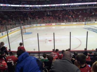 United Center section 102