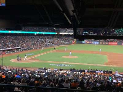 AT&T Park, section: SRO