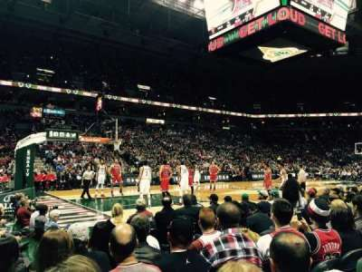 BMO Harris Bradley Center, section: 216, row: B, seat: 12