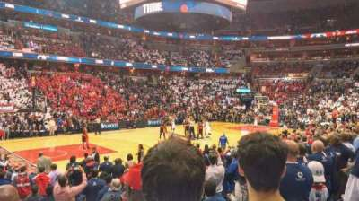 Verizon Center, section: 109, row: L, seat: 14