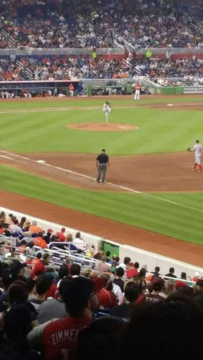 Marlins Park, section: 3, row: 25, seat: 21
