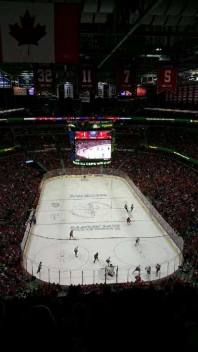 Verizon Center, section: 408, row: K, seat: 9