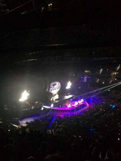 The SSE Hydro, section: 325, row: DD, seat: 57