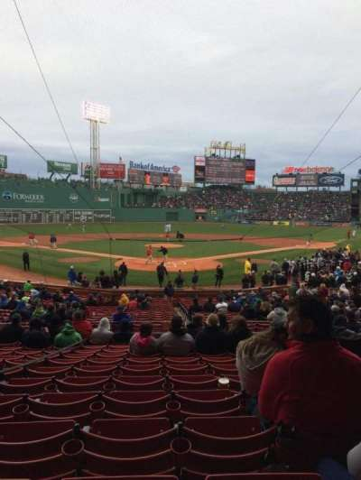 Fenway Park, section: Loge Box 131, row: MM