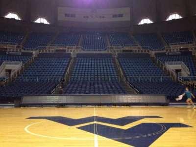 WVU Coliseum section Court