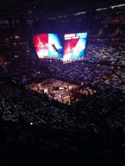 Quicken Loans Arena, section: 230, row: 7, seat: 5