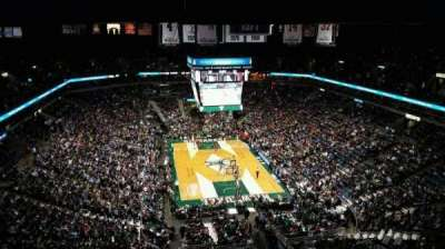BMO Harris Bradley Center, section: 412, row: T, seat: 13