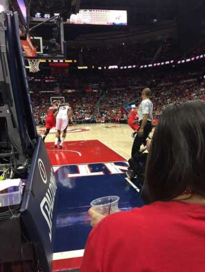 Philips Arena, section: 120, row: CC, seat: 10