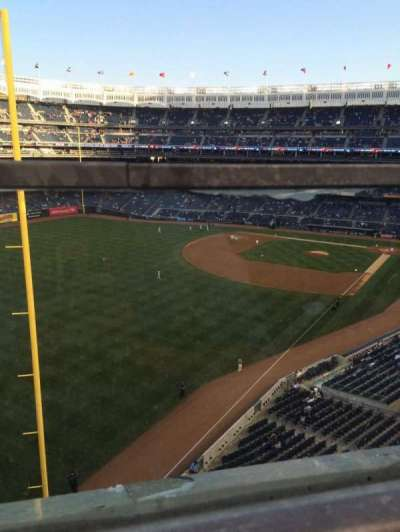 Yankee Stadium, section: 332a, row: 1, seat: 9