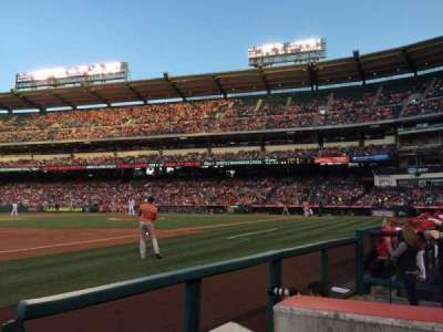 Angel Stadium section 109