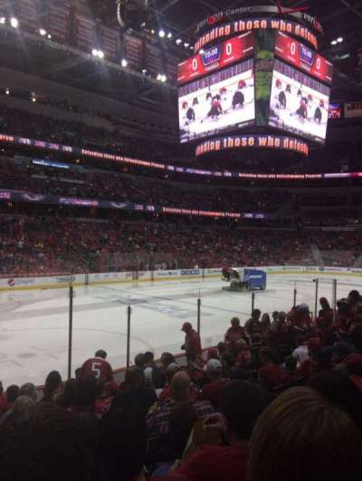 Verizon Center, section: 120, row: L, seat: 1